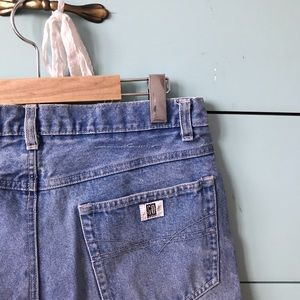 Pants - Washed Jeans Shorts